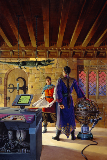 , 'The Steerswoman,' 1989, IX Gallery