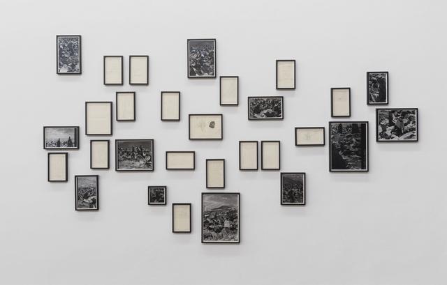 , 'Aufzeichnungen über Gyaphelri,' 2017, Galerie Hubert Winter