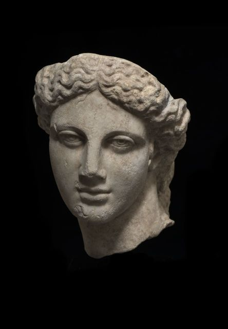 , 'Head of Apollo,' 2nd-3rd century AD, Charles Ede