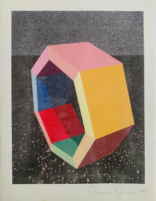 "Ronald Davis, 'Heptagon Study ""Ray-Trace"" Series', 1989, David Lawrence Gallery"
