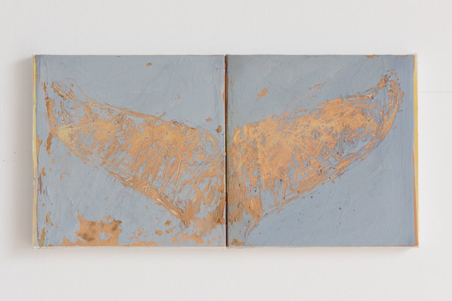 , 'Angel 02 (two panels),' 2018, SILAS VON MORISSE gallery