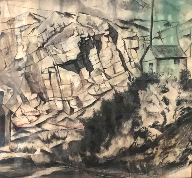 , 'Quarry Landscape,' 1930s-1940s, Contemporary Works/Vintage Works