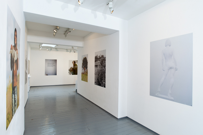 Installation at Paul Stolper Gallery - SNAP / The Portfolio 2011 -
