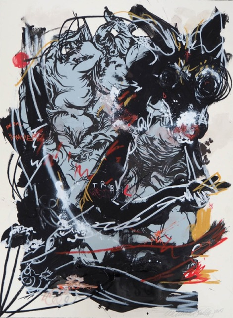 Willehad Eilers, 'Meat and Hyenas', 2014, Coleccion SOLO