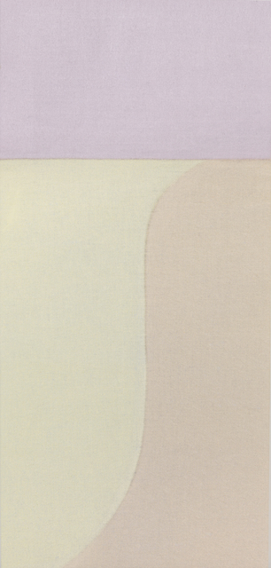 , 'Untitled (Cream/Pink Vertical),' 2015, Berry Campbell Gallery