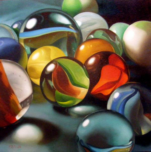 , 'Marbles,' 2010, Woodward Gallery