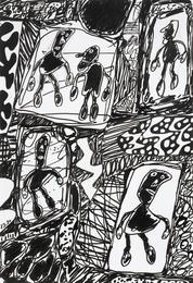 Paysage avec 5 personnages