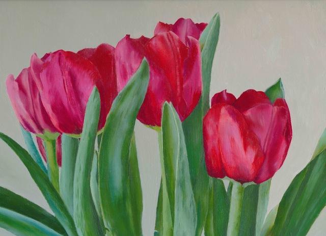 , 'Red Tulips,' ca. 2014, Adah Rose Gallery