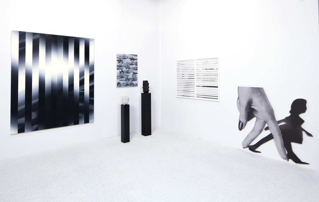 Anat Ebgi booth, Installation view, Art Los Angeles Contemporary, 2017