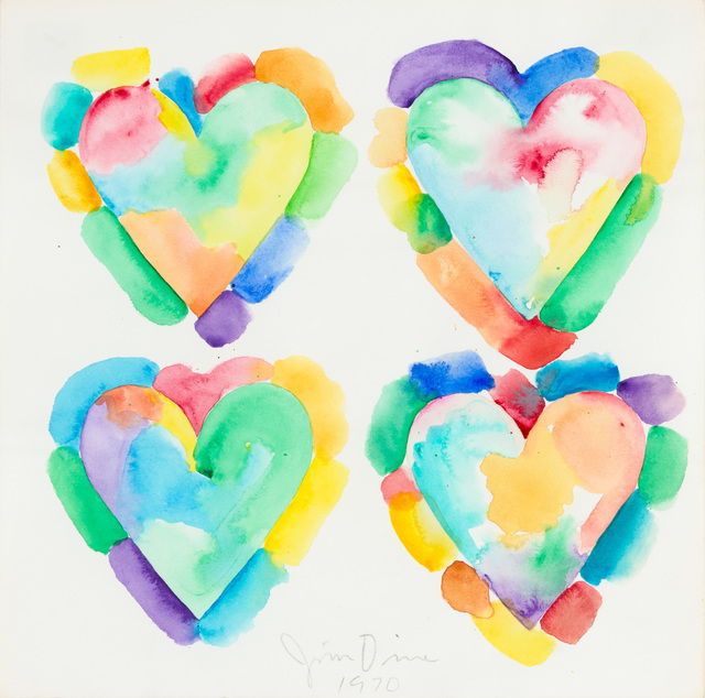 , 'Four Hearts,' 1970, Christopher-Clark Fine Art