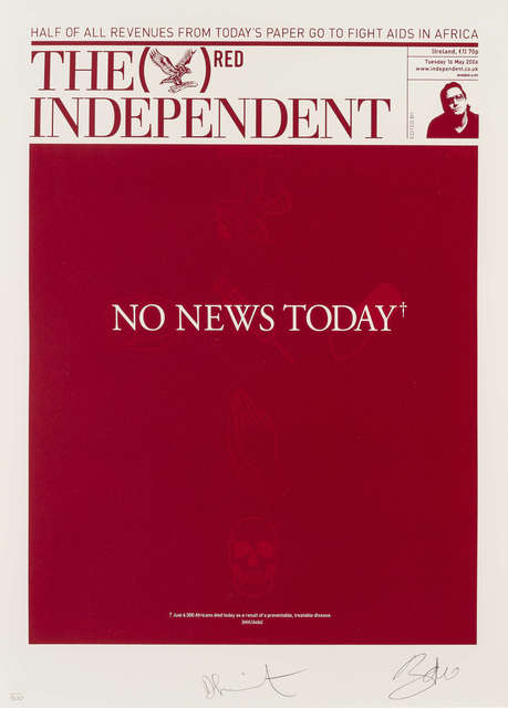 Damien Hirst, 'The Independent (RED)', 2008, RAW Editions