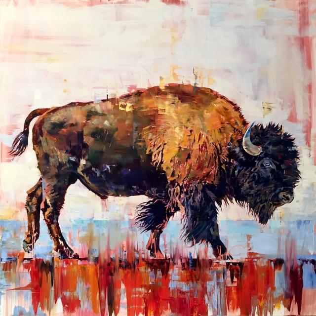 Douglas Schneider, 'Blue Eyed Buffalo', 2019, Diehl Gallery