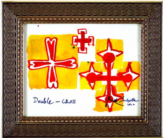 , 'Double Cross,' 2010, KETELEER GALLERY