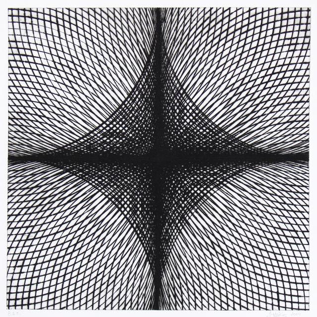 , 'Arcs & Semicircles V,' 2004, Manneken Press