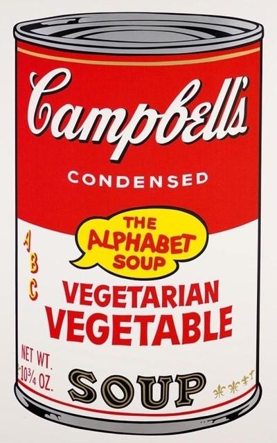 Andy Warhol, 'Vegetarian Vegetable Soup II.56', 1986, OSME Fine Art