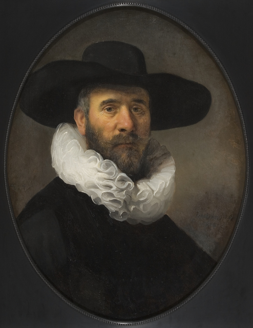 Rembrandt van Rijn, 'Portrait of Dirck Jansz Pesser', ca. 1634, Los Angeles County Museum of Art