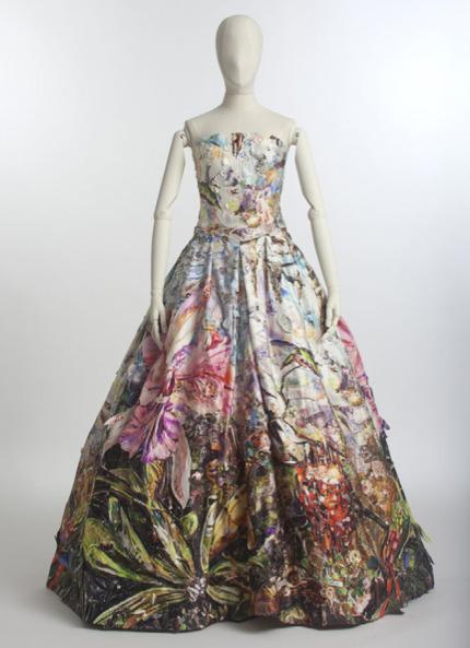 Vik Muniz, 'Peau D'ane Gown, 2013.  Installation view, Palais de Tokyo, Paris.  ART CAPSUL created by Stacy Engman exhibition, July 2013.  Haute Couture.', ART CAPSUL