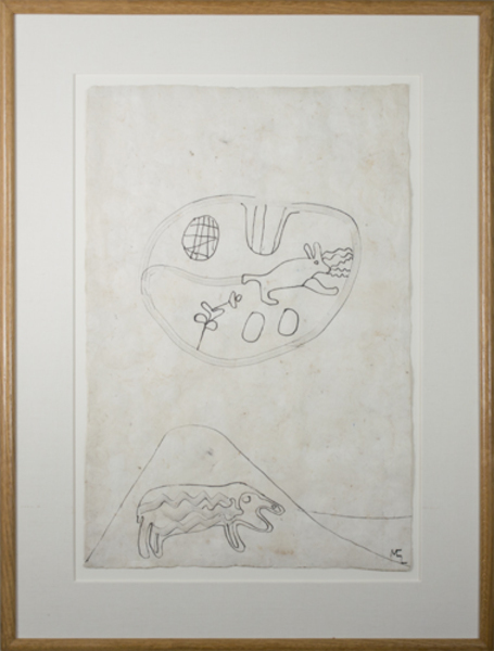 , 'Sheep, Rabbit in Desert,' 1991, David Barnett Gallery