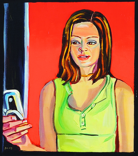 , 'Anne Chung with mobile (Hobart),' 2005, Charles Nodrum Gallery