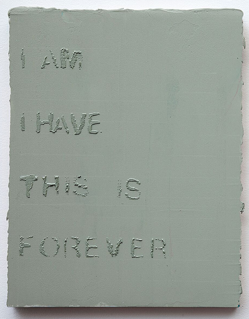 , 'I am I have,' 2016, Albert Merola Gallery