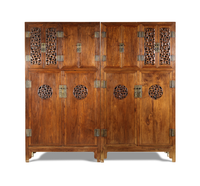 , 'Pair of cabinets,' Late 18th or early 19th century, Liang Yi Museum