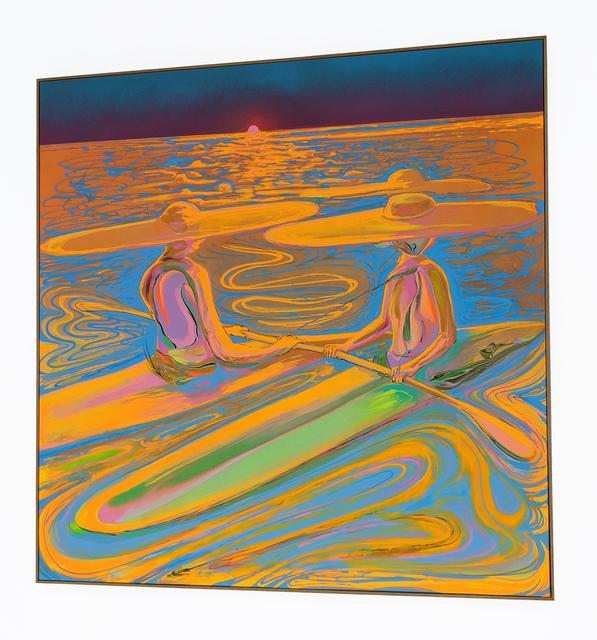 Erik Minter, 'DisSoulution Sundown', 2020, Painting, Acrylic, spray paint on canvas, Daniel Raphael