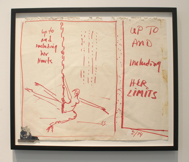 , 'Up to and Including Her Limits with Kitch,' 1974, P.P.O.W