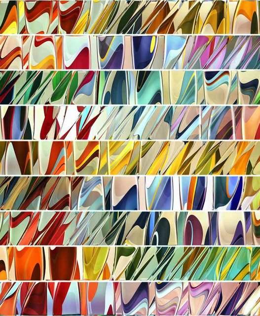 , 'Motorik / Two / Chromatic Shift,' 2017, Catto Gallery