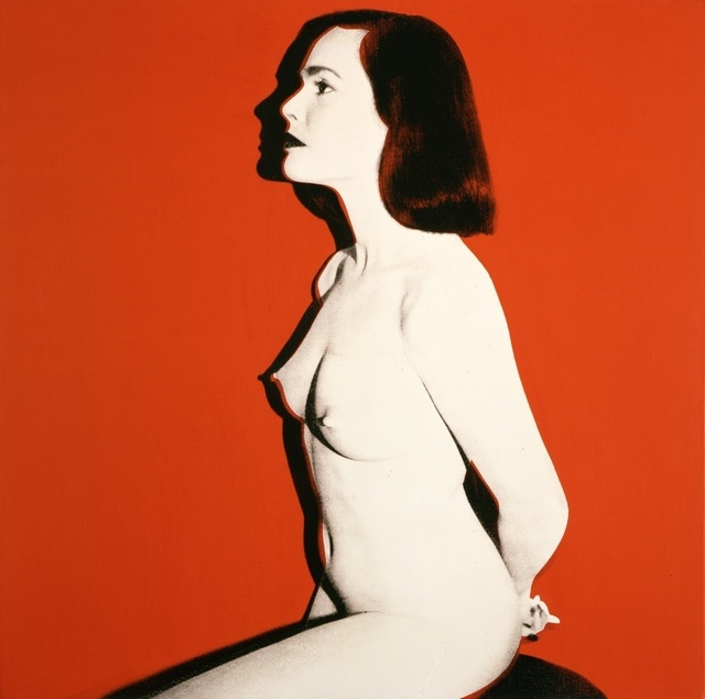 Andy Warhol, 'Pat Hearn', 1985, Painting, Acrylic and silkscreen ink on canvas, Gagosian