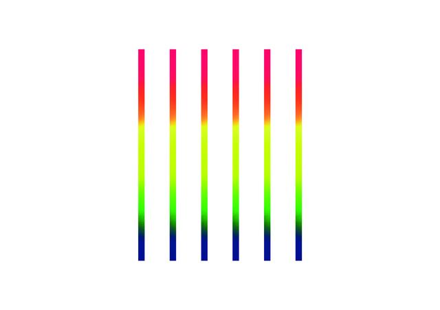 , 'Rainbow on White NYC,' 2017, Artists Studios