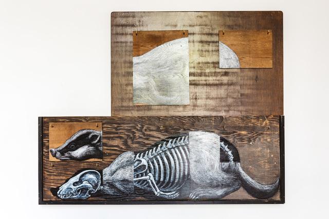 , 'MELINAE MMXVIII (Badger),' 2018, The Garage Amsterdam