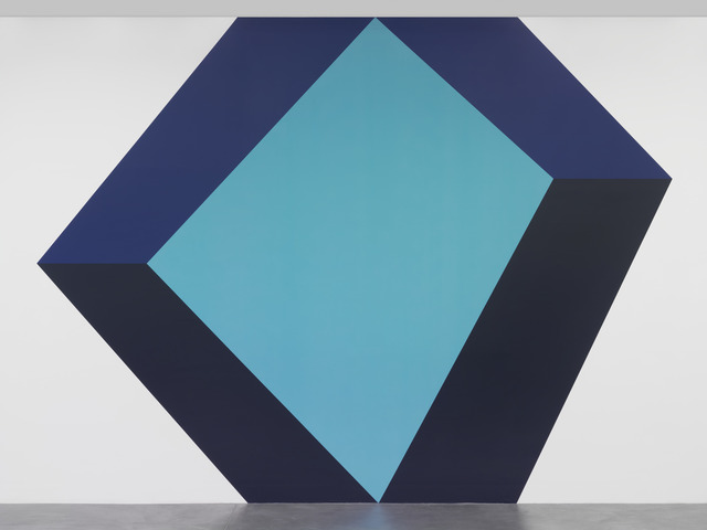 , 'Untitled Wall Painting,' 2016, Galerie Eva Presenhuber