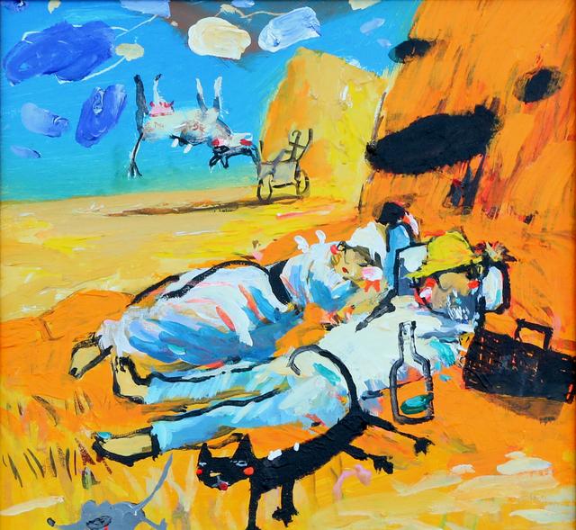 , '1 - Greetings to Van Gogh,' 2016, Albareh Art Gallery