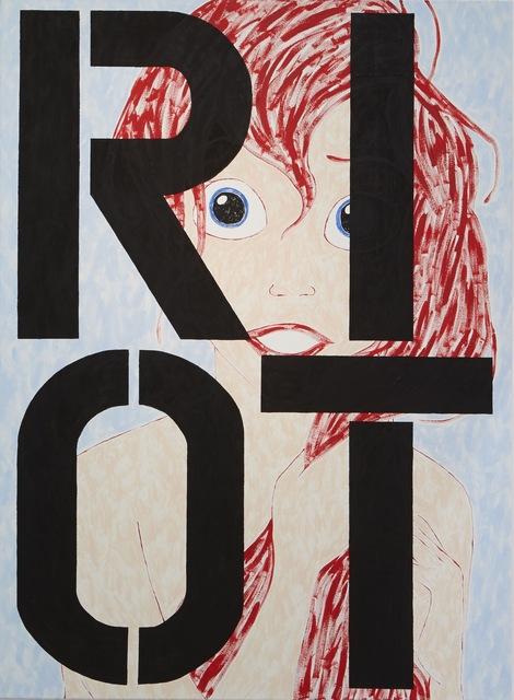 , 'Ariel RIOT,' 2015, Evelyn Yard