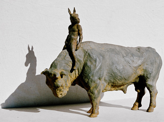 , 'Bull and Rider,' , Hugo Galerie