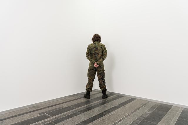 , 'Veterans of war facing the corner,' 2017, PinchukArtCentre