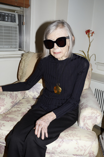 , 'Joan Didion, Celine Campaign Spring Summer 2015, New York (Uncropped),' 2014, Lehmann Maupin