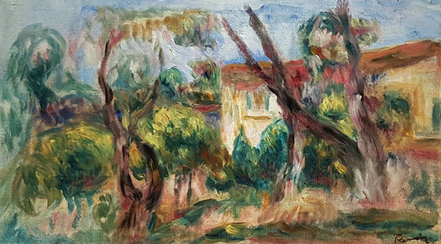 , 'Paysage,' 1910-1913, GALERÍAS A. CRISTOBAL