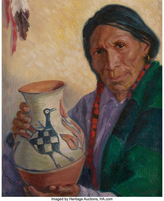 Blanche Grant, 'Cochiti Bird', 1931, Heritage Auctions