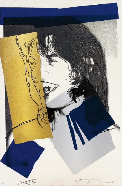 Andy Warhol, 'Mick Jagger', 1972, Print, Screenprint in colours, on Arches Aquarelle (Rough) paper, the full sheet., Phillips