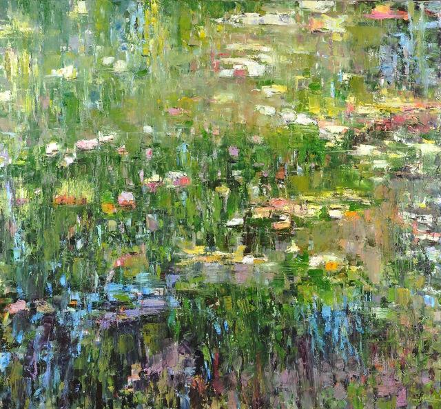 , 'Pond Reflections II,' 2018, Mark White Fine Art