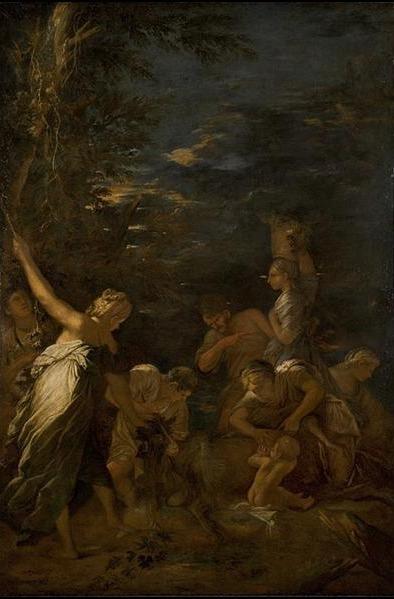 Salvator Rosa, 'The Nurture of Jupiter', ca. 1659, Davis Museum