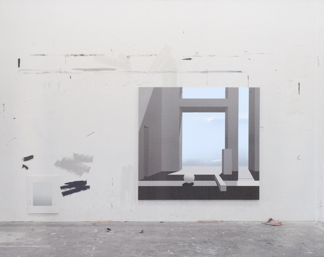, 'Raum 988,' 2013, Galerie Nikolaus Ruzicska