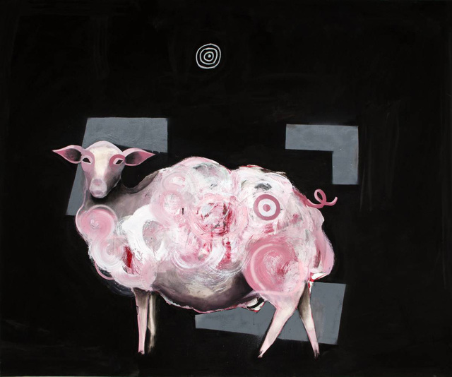 , 'Sheep/Swine,' 2014, Lazinc