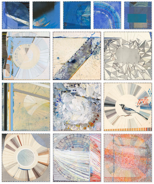 , 'Carolina Color Wheels: Untitled Ocean Park,' 2017, Wally Workman Gallery
