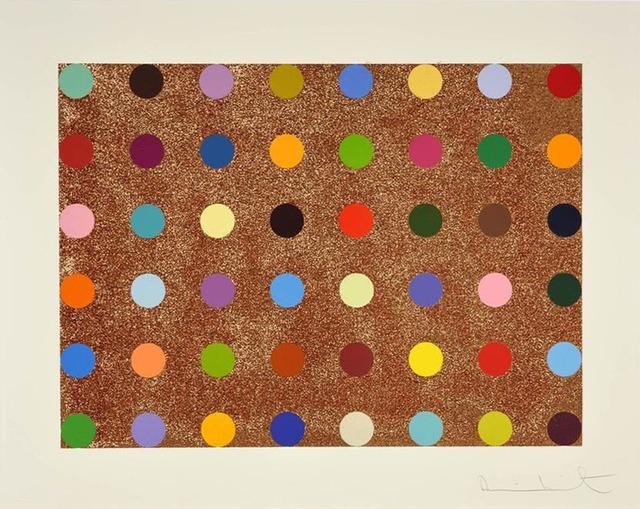 Damien Hirst, 'Proctolin (with Bronze Glitter)', 2008, DANE FINE ART