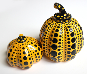 Yellow Pumpkins (set of 2)