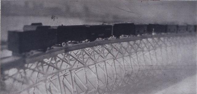 , 'Freight Train on Bridge,' 2004, Lesley Heller Gallery