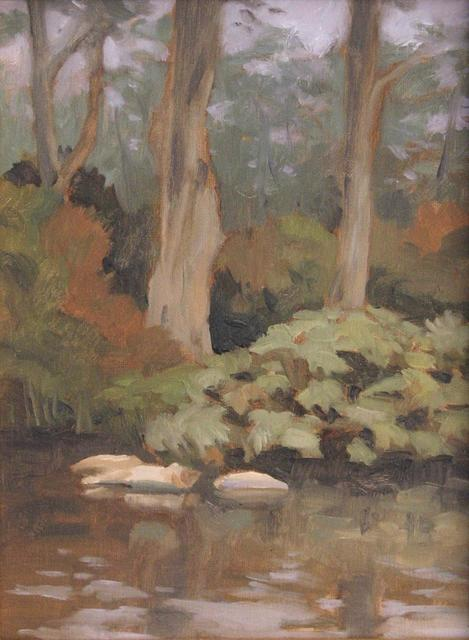 , 'Foggy Morning in the Botanical Garden,' ca. 2018, STUDIO Gallery