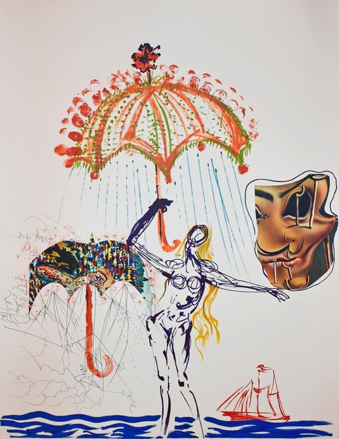 Salvador Dalí, 'Anti-Umbrella with Atomized Liquid, from Imaginations and Objects of the Future', 1975, Georgetown Frame Shoppe